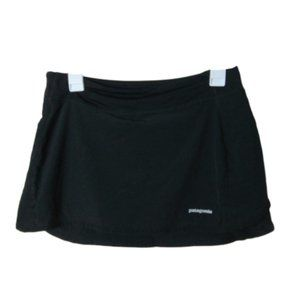 Patagonia black athletic wear skort skirt